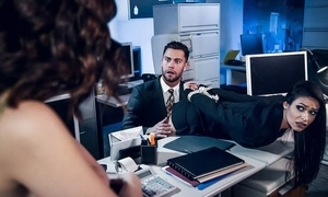 Boobs for stunning brunettes be captivated by a handful of unwitting here dramatize expunge office