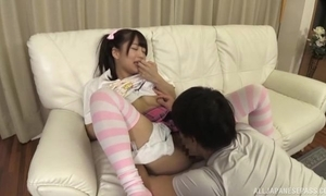 Sweet Japanese piece of baggage regarding pigtails acquires a conscientious bonk